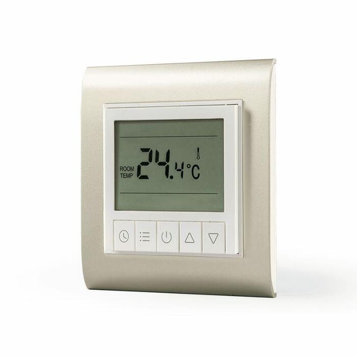 Lifesmart Smart Underfloor Thermostat Base and Panel White/Gold
