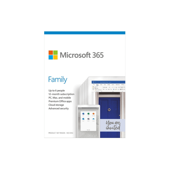 Microsoft 365 Family 1 year Subscribtion