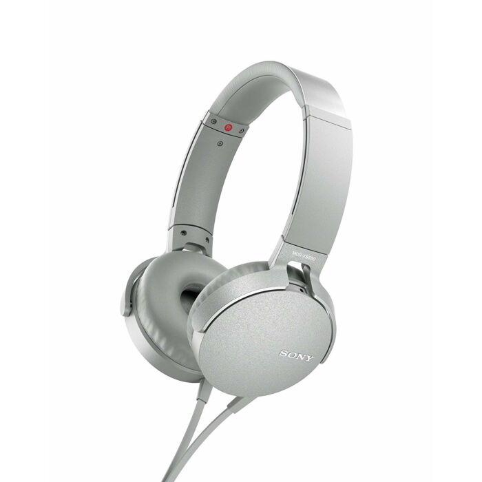 Sony XB550AP Extra Bass On-Ear Headphone White