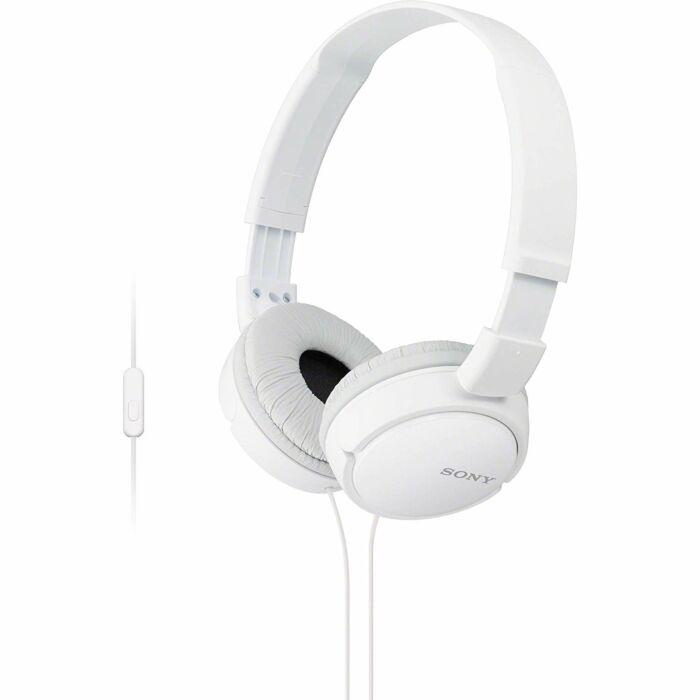 Sony ZX110 Foldable Headphones White