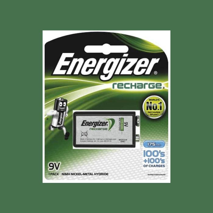 Energizer Recharge 9V Blister 1