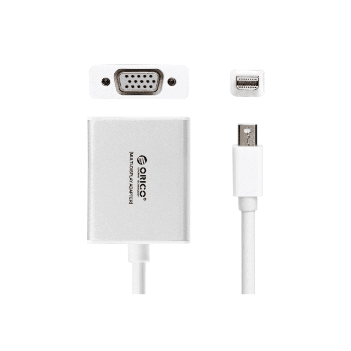 Orico Mini Display Port to VGA Adapter - Silver
