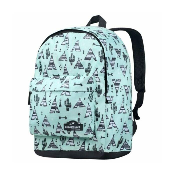 Playground Rio Grande Teepee Backpack Green