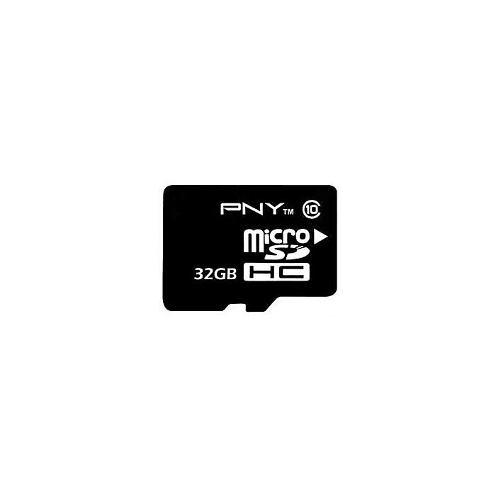 PNY 32GB MicroSD Card - Class 10 - With SD Adapter
