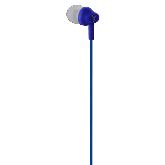 Pro Bass Genesis series Packaged Aux earphone No Microphone Royal Blue