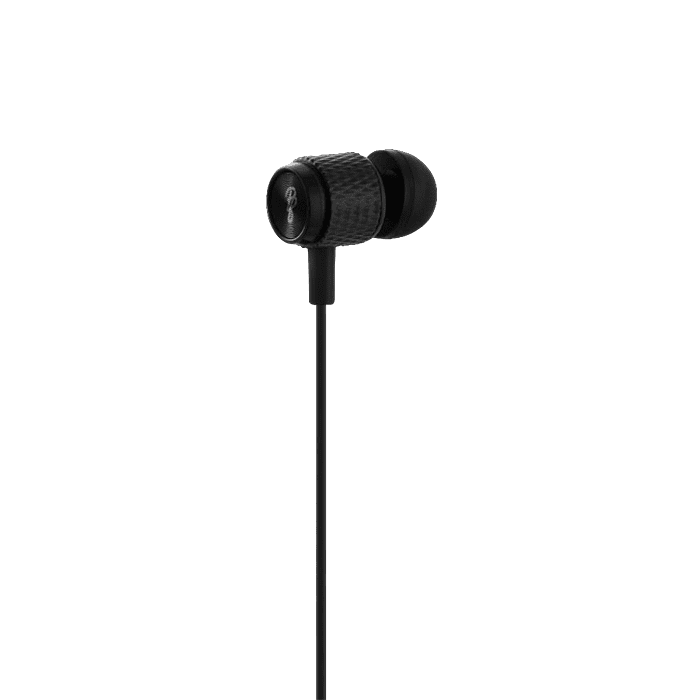 Pro Bass Catalyst series Blister Aux earphone With Mic Black