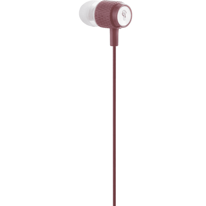Pro Bass Catalyst series Blister Aux earphone With Mic Rose Gold