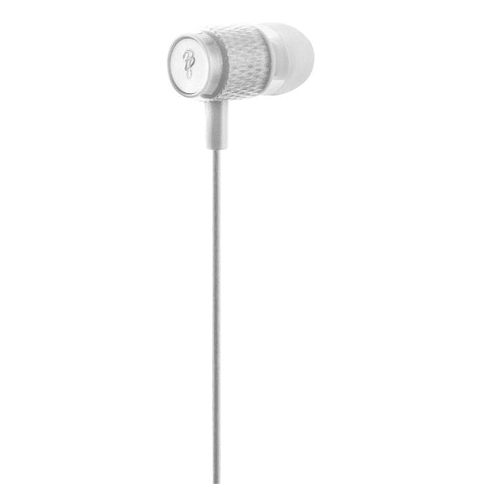 Pro Bass Catalyst series Blister Aux earphone With Mic Silver