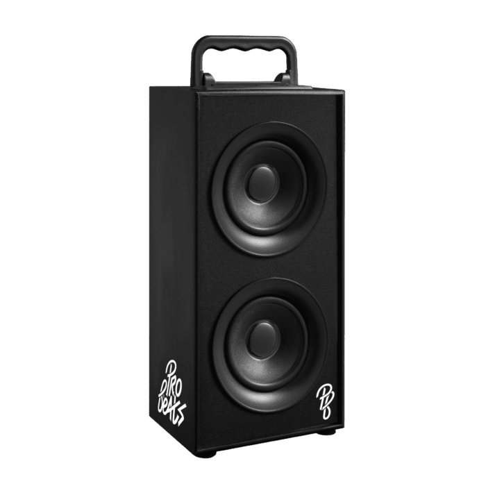 Pro Bass Boss Series 2.0 Double Tower Speaker With FM Radio- Black