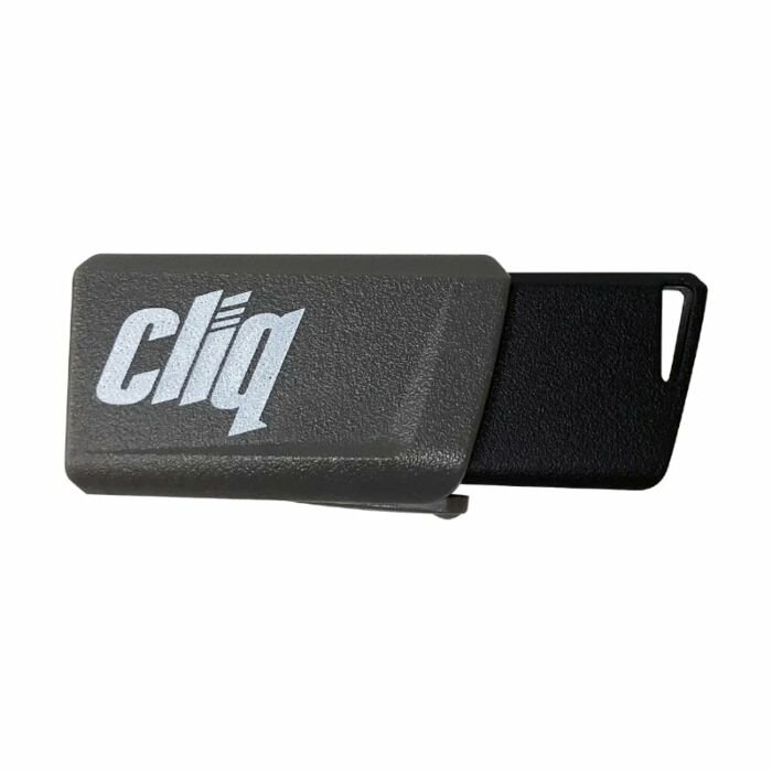 Patriot Cliq 128GB USB3.1 Flash Drive Grey