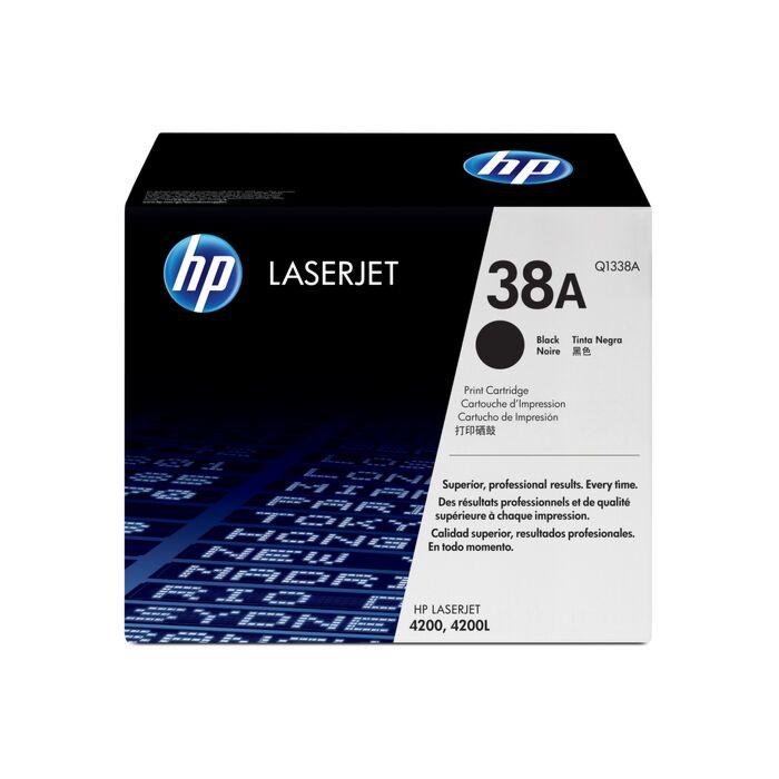 HP 38A LJ 4200 Black Print Cartridge