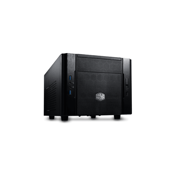 Cooler Master Elite 130 mini ITX Black 120mm Fan Installed
