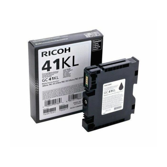 RICOH GC41KL BLACK TONER 600 PAGES @ 5% IDC. (SG2100N/RS Only)