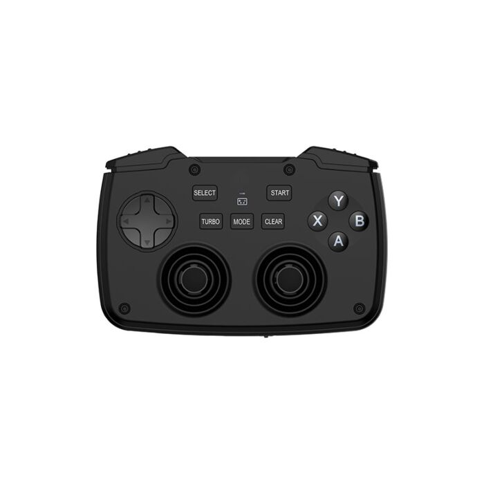 Rii 2in1 Wireless Gamepad with Touchpad|QWERTY Keyboard|2 x Analogue Sticks|Bumpers & Triggers|D-Pad|backlighting Black