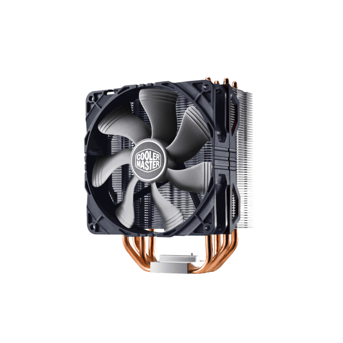 Cooler Master Hyper 212X Air Tower Black Top Cover 120mm Fan 4 Heat Pipes