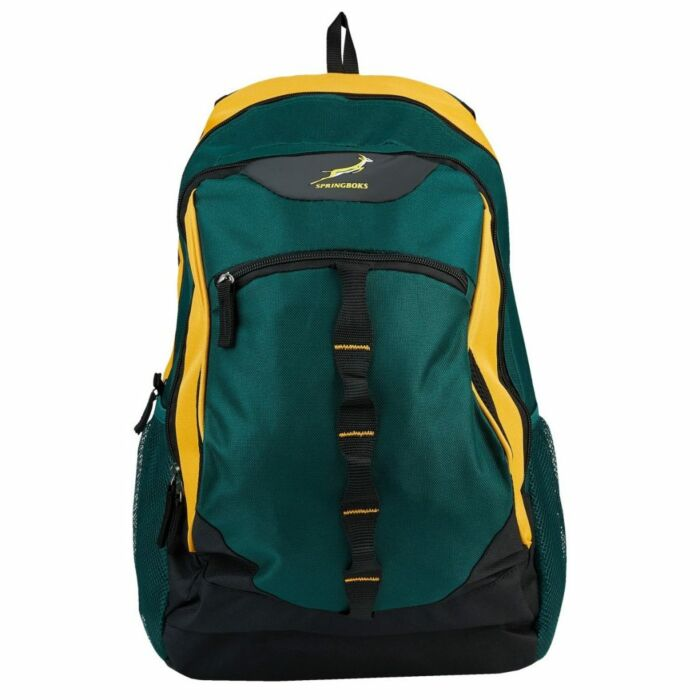 Springbok Sidestep 28L Backpack Green and Gold