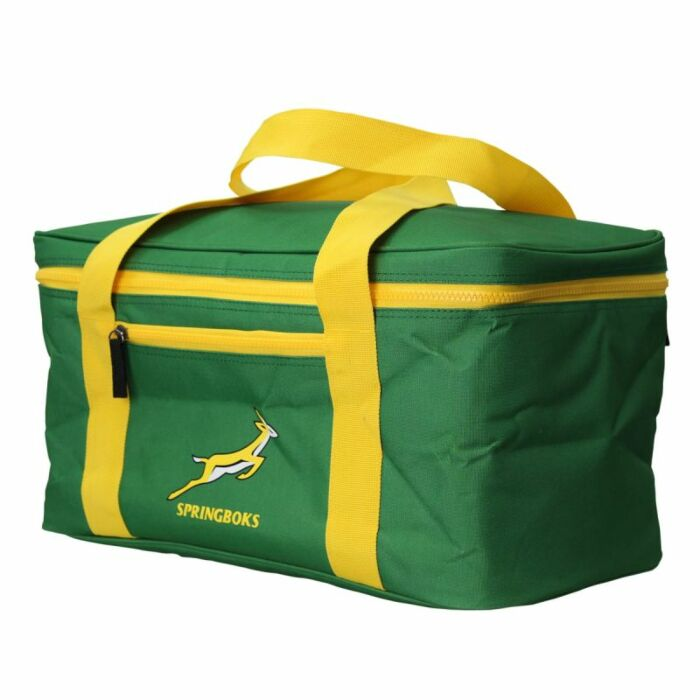 Springbok Tailgate 21L Cooler Bag Green and Gold