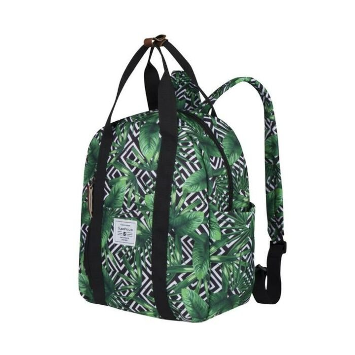 Supanova Gisele Geojungle Backpack Green