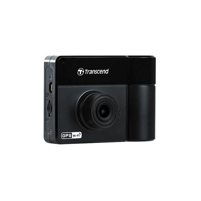 Transcend DrivePro 550 Dual Lens FHD Dash Cam with 64gb MicroSD Card - Black