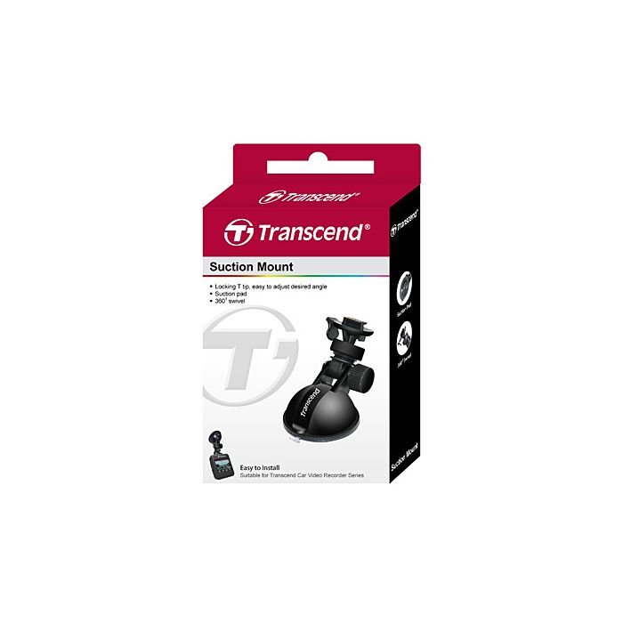 Transcend DrivePro 45mm Window Suction Mount - Black