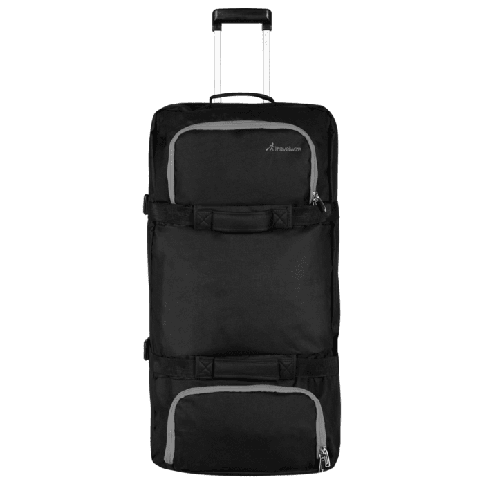 Travelwize Andy Sandwich Duffle 120L Black and Dark Grey