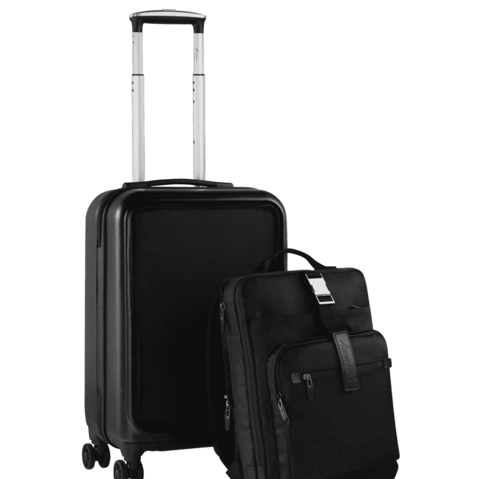 Travelwize Elon Detachable PC Upright Trolley 20 inch Black