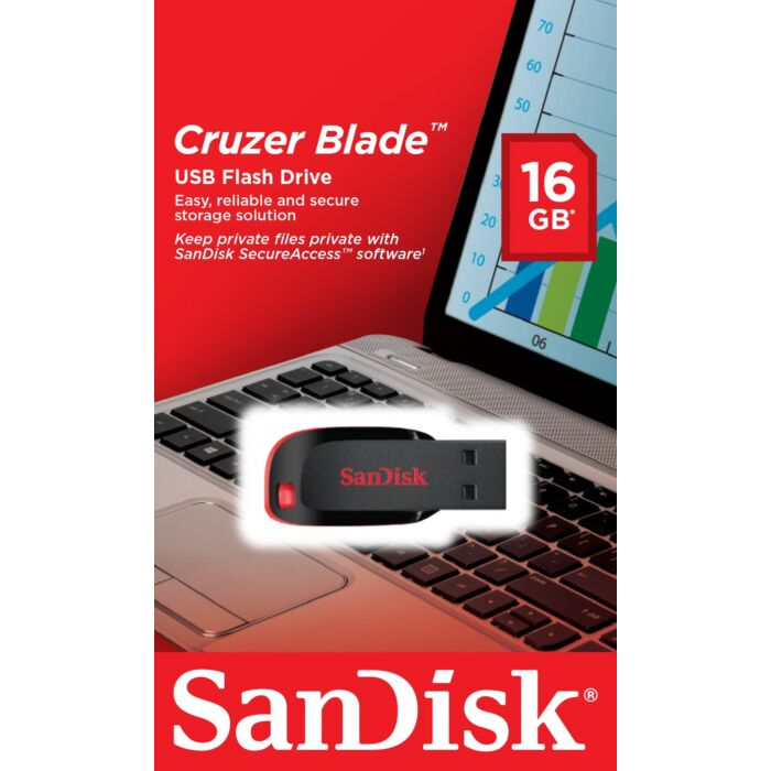 Cruzer Blade USB flash drive 16GB USB 2.0