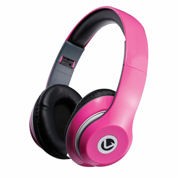 Volkano Falcon series Headphones with Mic Pink