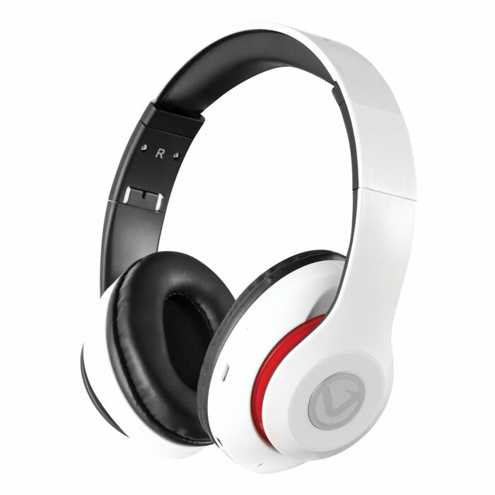 Volkano Impulse Series Bluetooth Headphones White