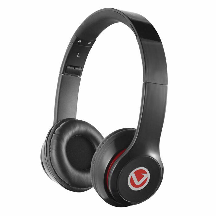 Volkano Velocity Series Bluetooth Headphones Black
