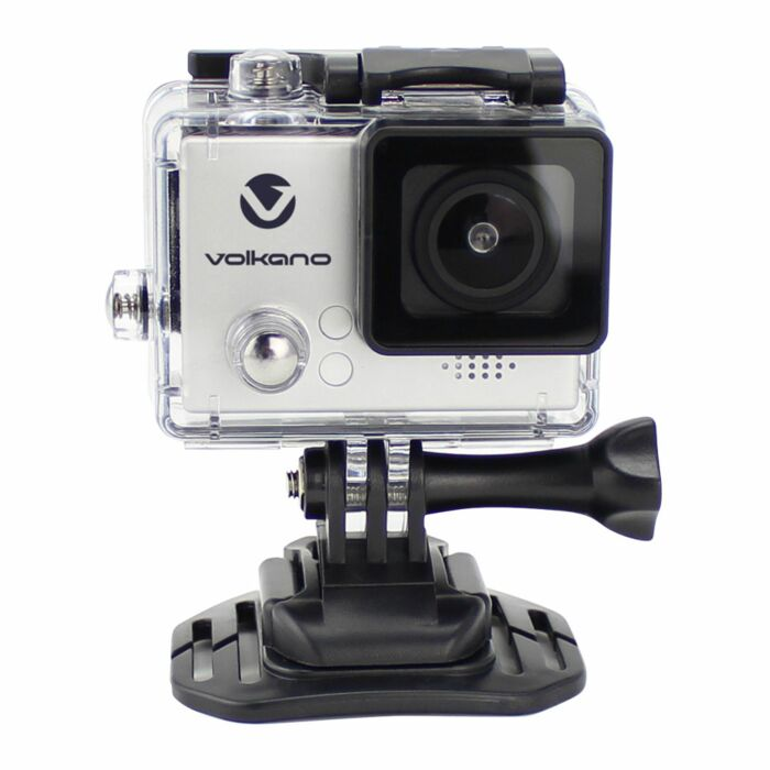 Volkano Lifecam Plus Series Action Camera - Silver