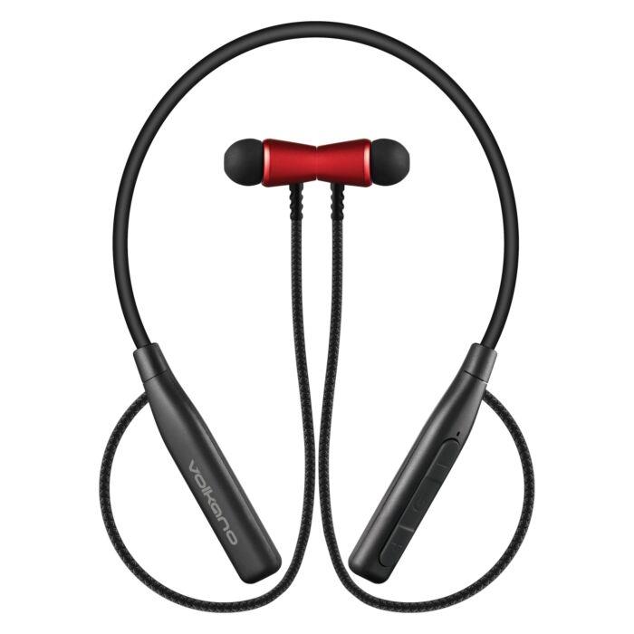 Volkano�Aeon + Series Bluetooth Earphones with Neckband Red