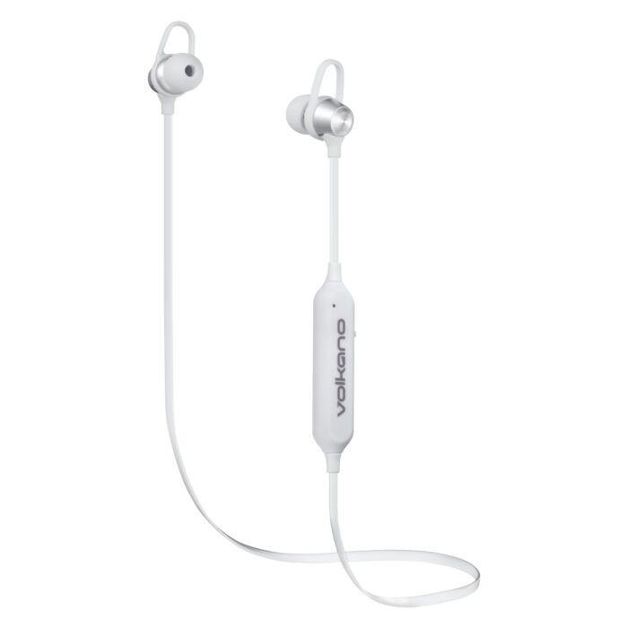Volkano Rush 2.0 Bluetooth Earphones Silver