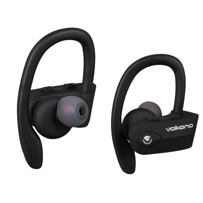 Volkano Sprint Series True Wireless Bluetooth earbuds - Black