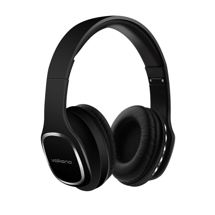 Volkano Phonic Series Bluetooth full size headphones - Black