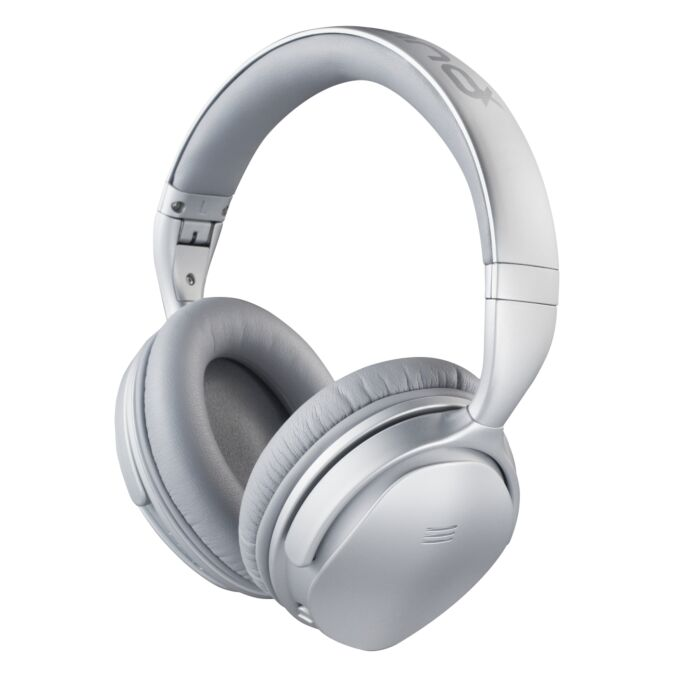 VolkanoX Silenco Series Active Noise Cancelling Bluetooth Headphones - Silver
