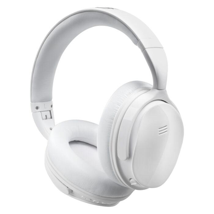 VolkanoX Silenco Series Active Noise Cancelling Bluetooth Headphones White