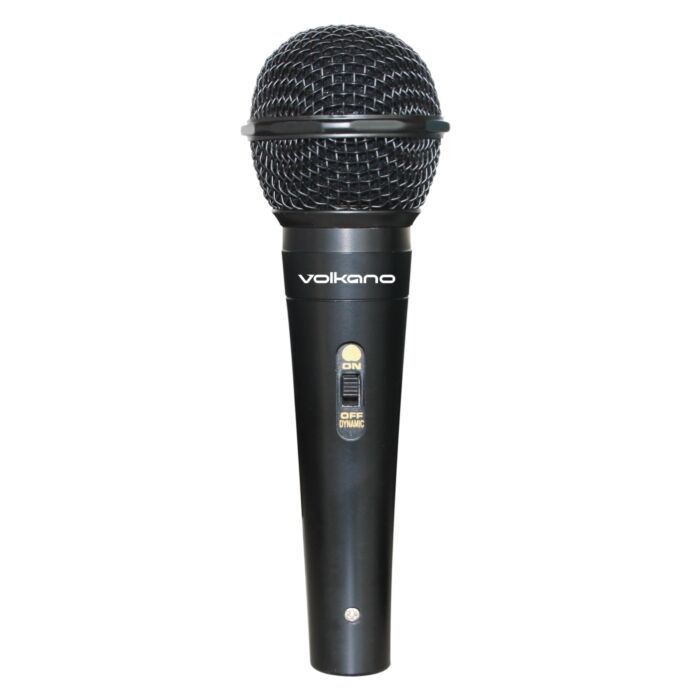 Volkano Ace Series Metal Wired Dynamic Vocal Microphone � Black