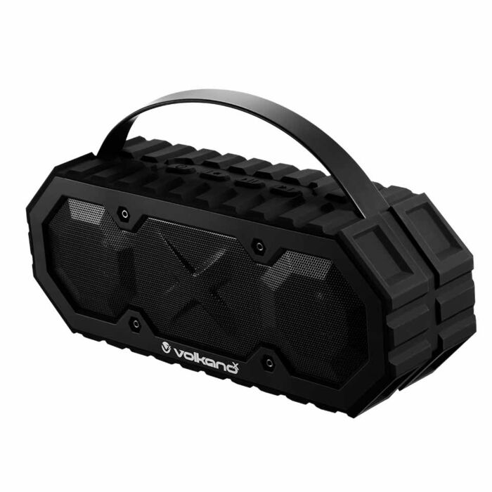 Volkano X Typhoon Series Bluetooth waterproof speaker - Black