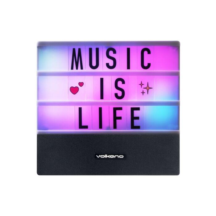 Volkano Headline Series Message Board Bluetooth Speaker
