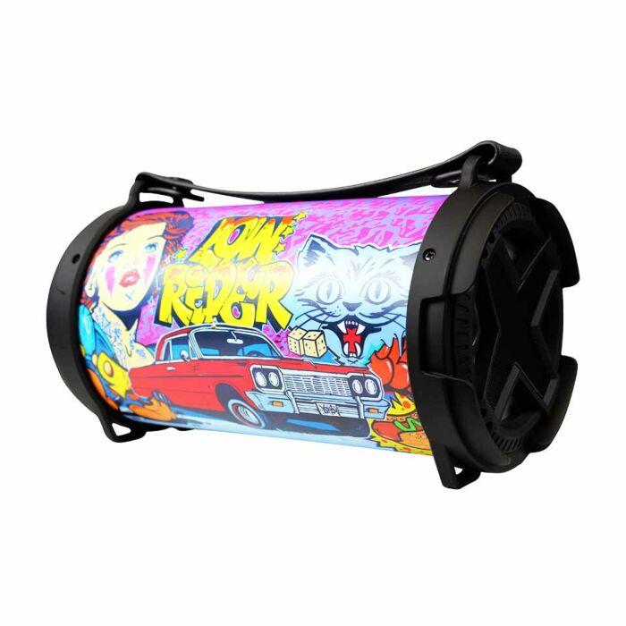 Volkano Xeon Series Bluetooth Tube Speaker - Graffitti Wrap