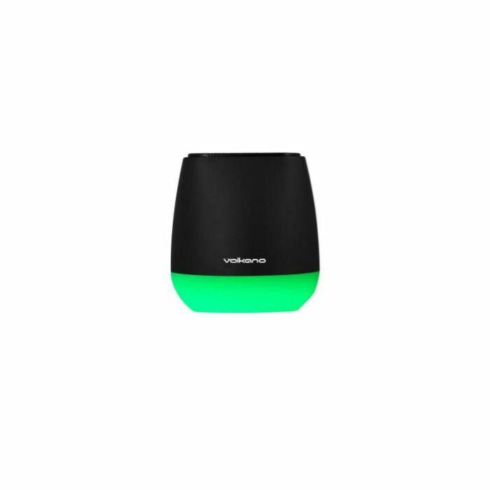Volkano Sense Series LED Speaker Black