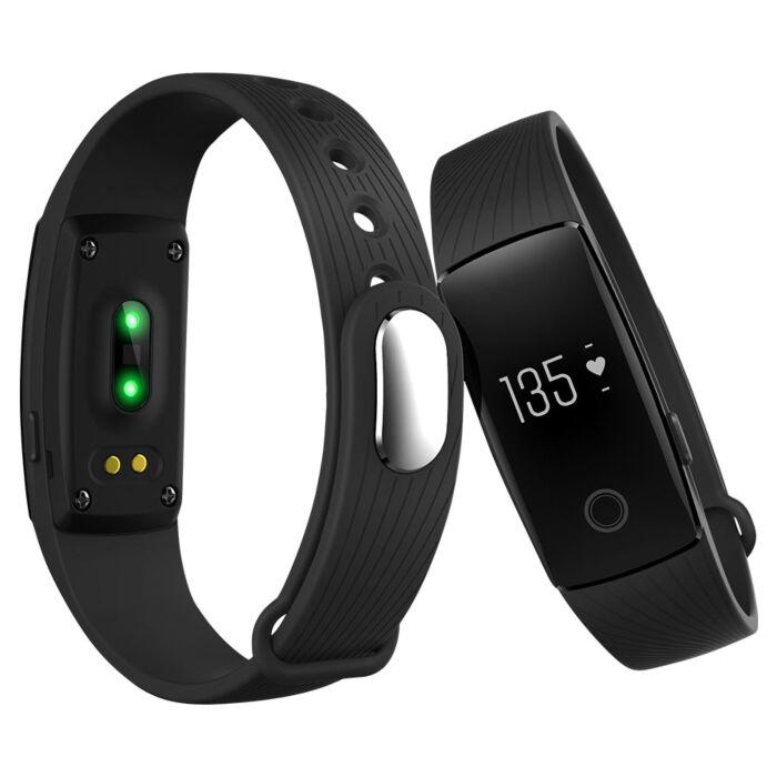 Volkano Alive Series Heart Rate Monitor fitness band - Black