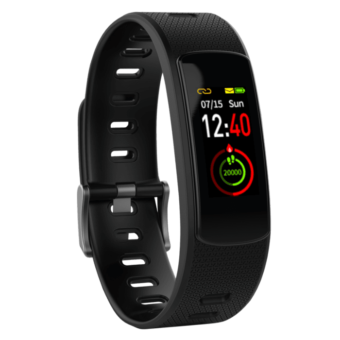 Volkano Breath Series IP67 Colour Fitness Band With Heart Rate Monitor