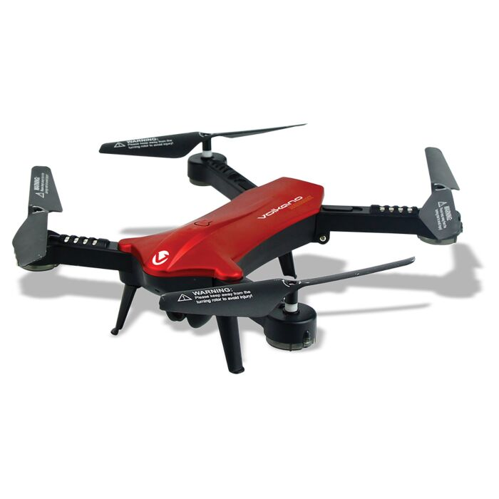 Volkano Redback series folding Drone with 720p WiFi camera - Black