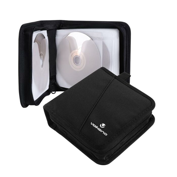 Volkano Iron series CD Wallet 96 discs