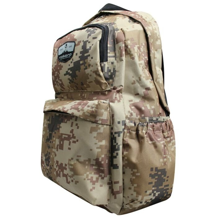 Volkano Military Backpack Brown