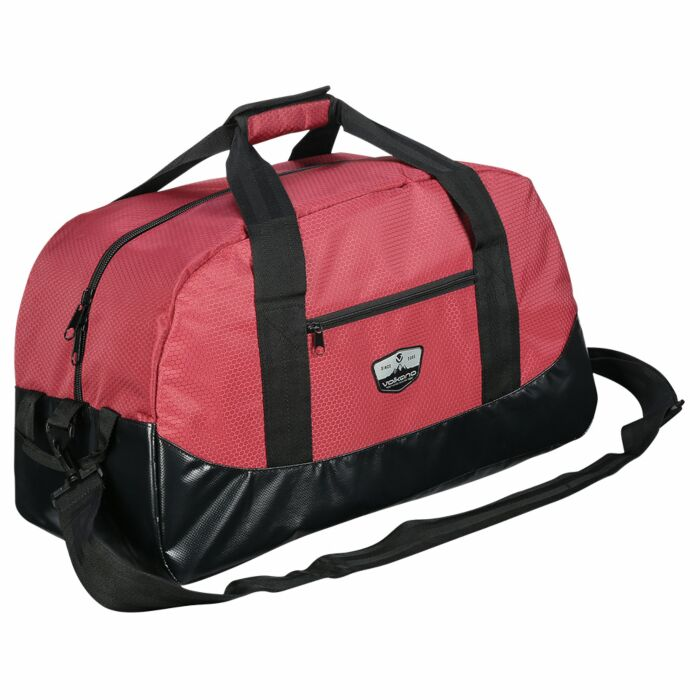 Volkano Notties Weekender Duffle Red and Black 50L