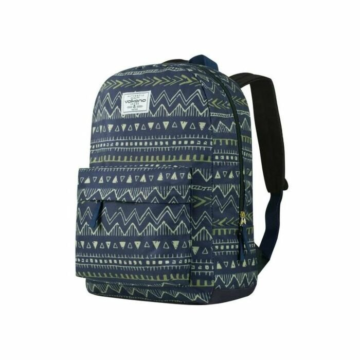 Volkano Diva Backpacks 16L Navy Aztec