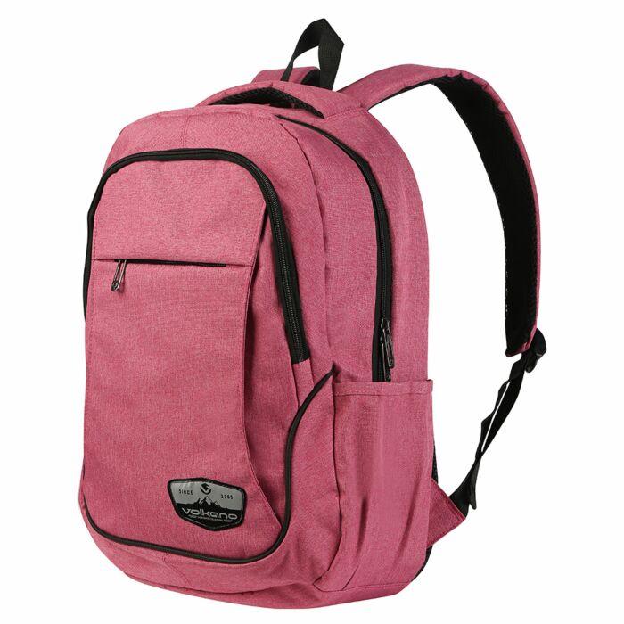Volkano Victory Backpack Pink Melange